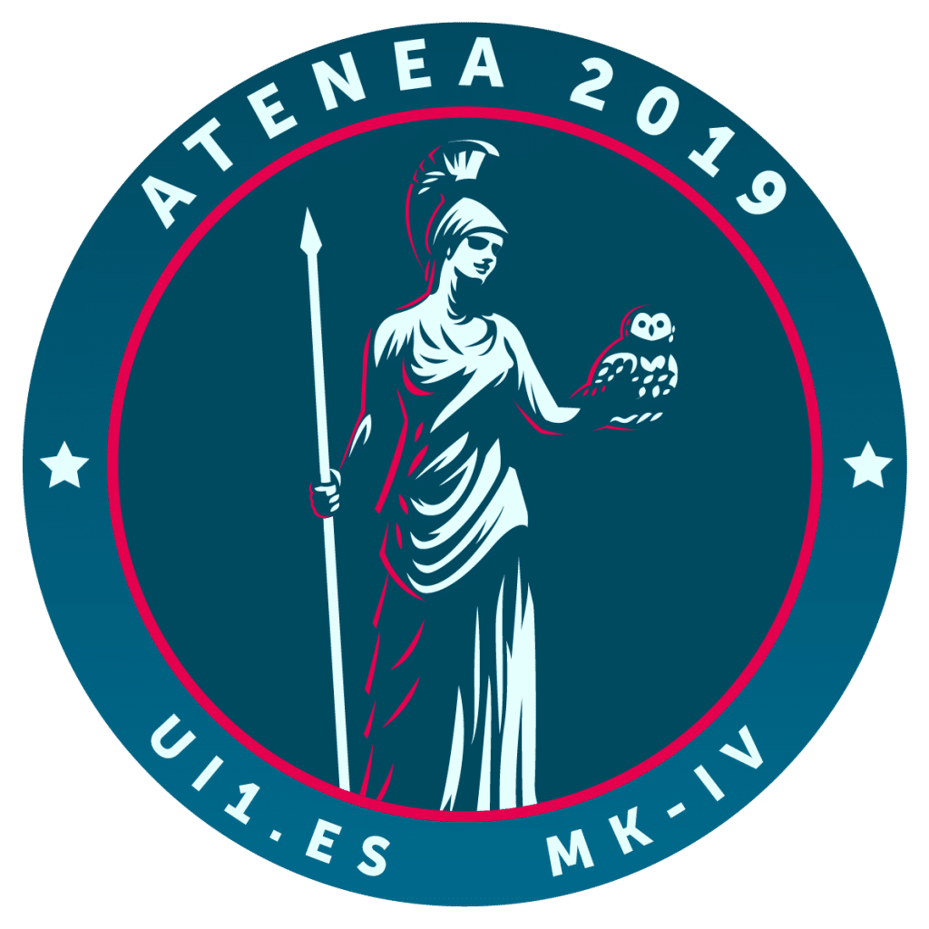 Emblema del proyecto Atena