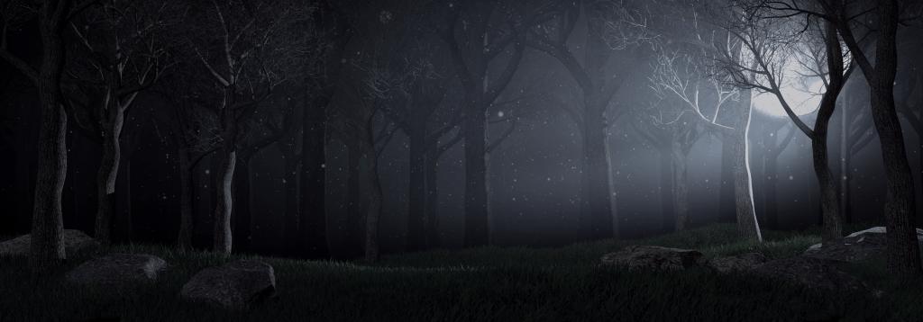 eco y narciso escenario nocturno